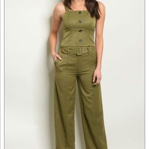 Olive Top and Pants